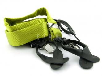 Suspender 100% Silk - Lime