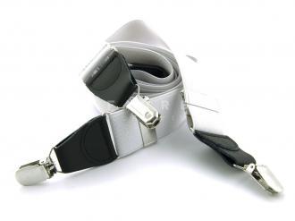 Suspender Elastic - White