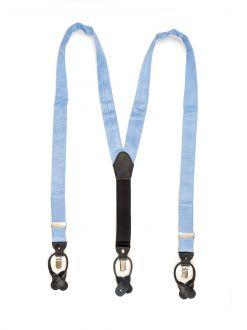 Bretels zijde (UITLOPEND) 2 - Lichtblauw