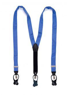 Bretels zijde (UITLOPEND) 5 - Middenblauw
