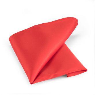 Pochet polyester-satijn NOS 2012 Rood