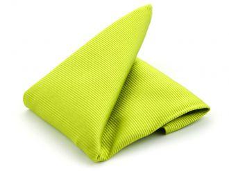 Pochet zijde NOS 4 - Lime