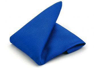 Pochet zijde NOS 65 - Kobalt