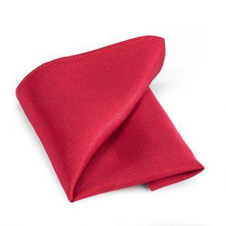 Pochet zijde NOS 7 - Rood