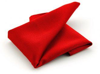 Pochet zijde NOS 71 - Rood