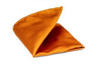 Pochet zijde/satijn Progetto NOS 13 - Oranje