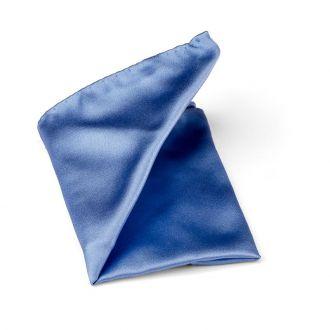 Pochet zijde/satijn Progetto NOS 4 - Lichtblauw