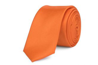 Stropdas polyester-satijn NOS 999 Oranje