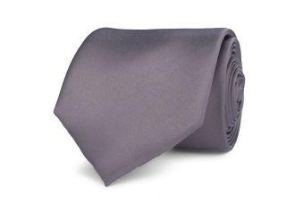 Stropdas polyester-satijn NOS 1004 Licht Grijs