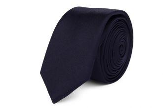Stropdas polyester-satijn NOS 260 Donker Marine