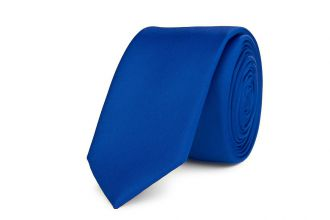 Stropdas polyester-satijn NOS 929 Kobalt
