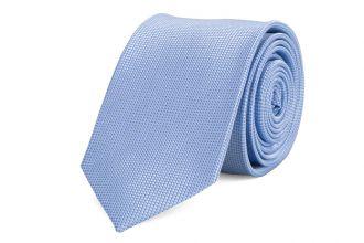 Stropdas zijde NOS 1 - Lichtblauw