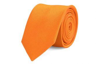 Stropdas zijde NOS 13 - Oranje