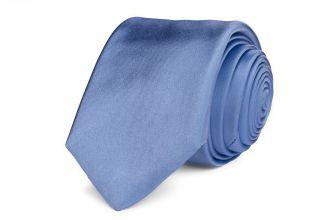 Stropdas zijde/satijn Progetto NOS 4 - Lichtblauw