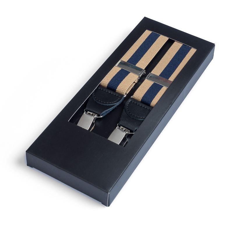 bretels elastiek 28 streep camelmarine