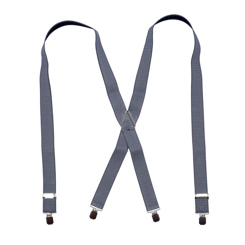 bretels elastiek 39 dots grijszwart