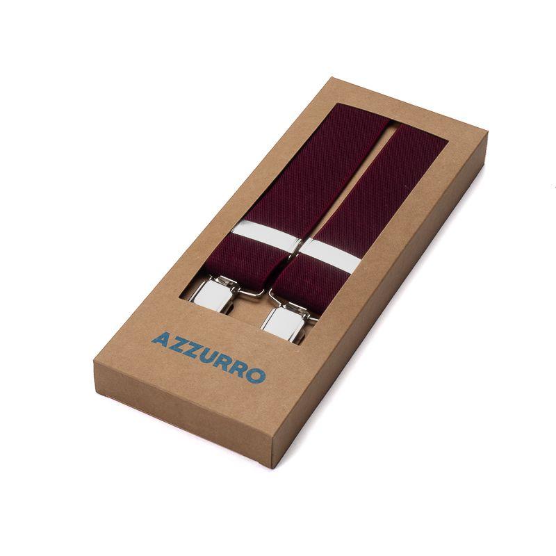 bretels elastiek 4 bordeaux