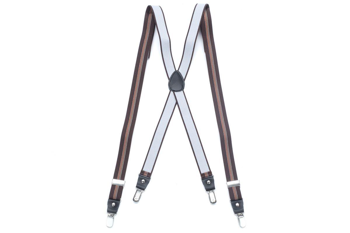 bretels elastiek 64 bruinbruin