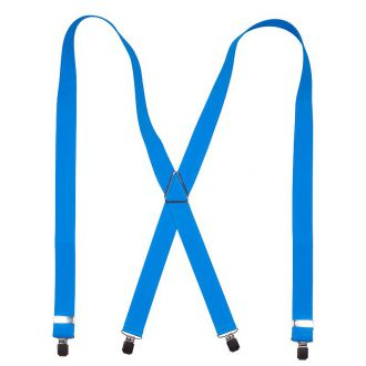 Bretels Elastiek 69 - Lichtblauw
