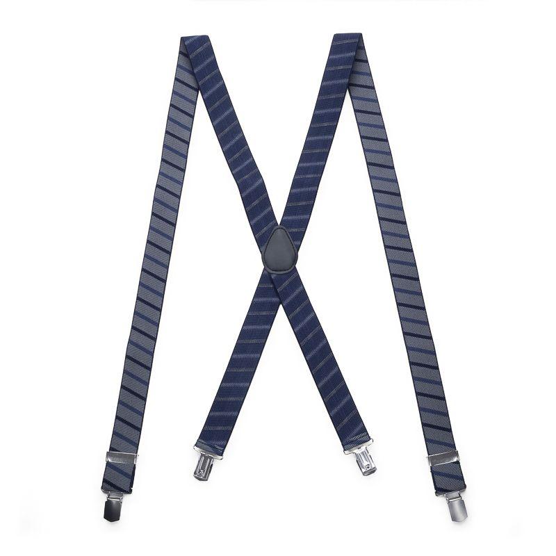 bretels elastiek 7003 grijsblauw