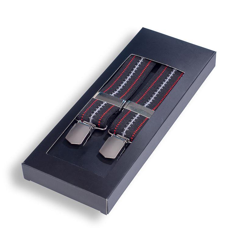 bretels elastiek 7008 donkerbruin
