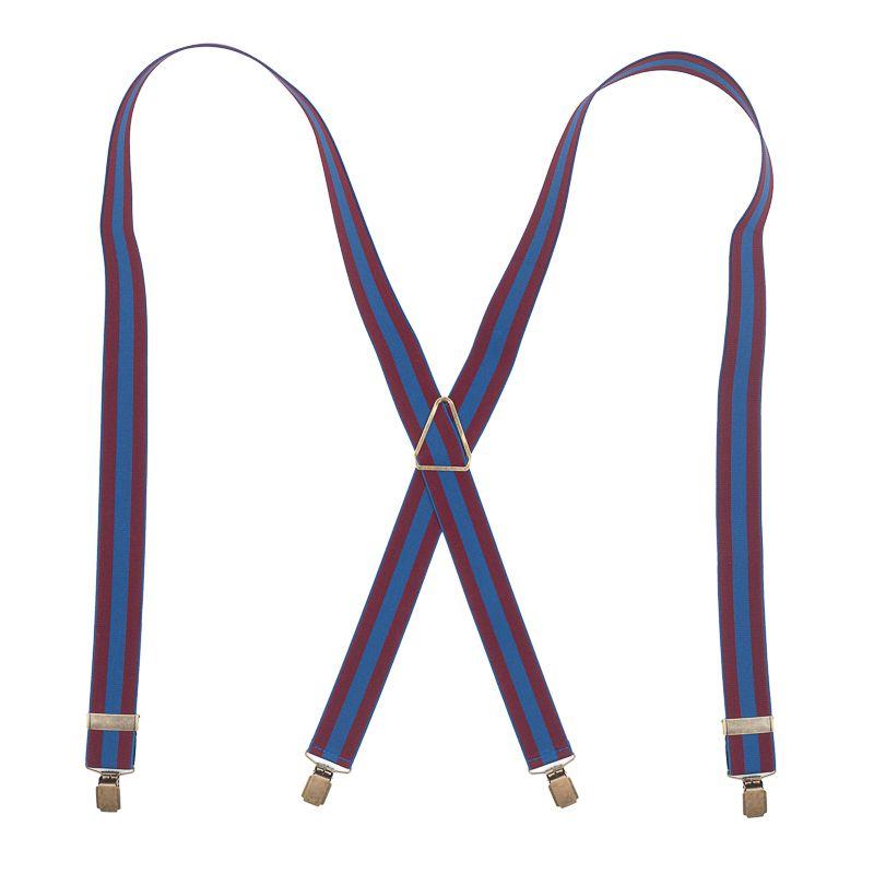 bretels elastiek bordeauxblauw