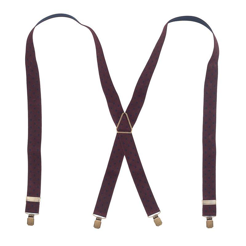 bretels elastiek bordeauxnavy