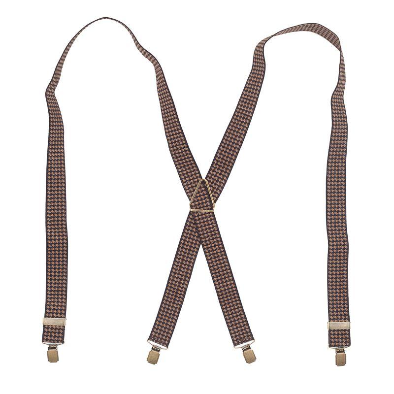 bretels elastiek bruinkhaki