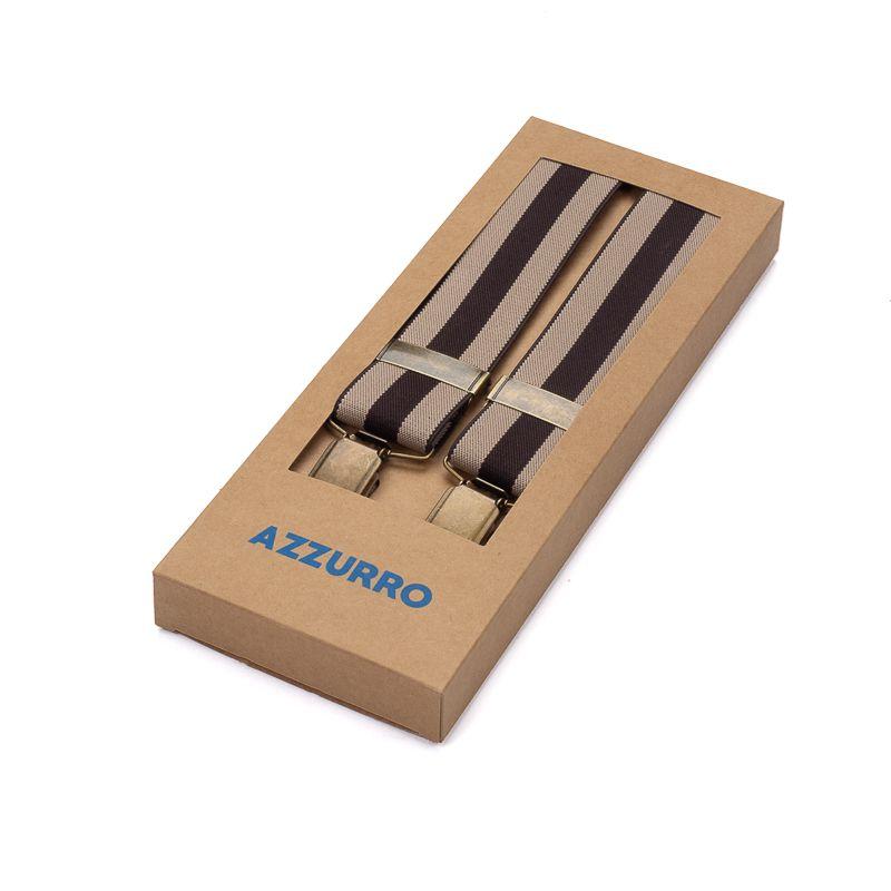 bretels elastiek khakibruin