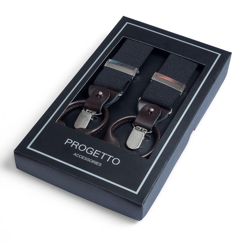 bretels elastiek luxury 10 zwart