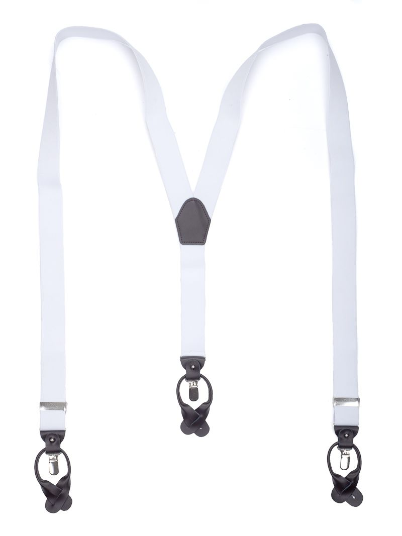 bretels elastiek luxury 14 wit