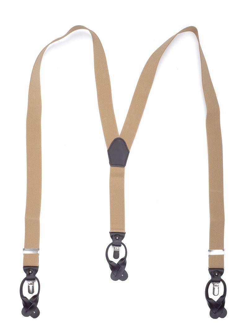 bretels elastiek luxury 16 camel