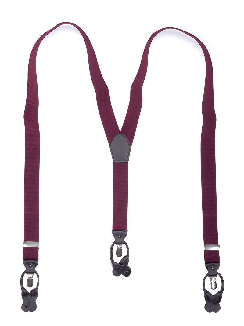 bretels elastiek luxury 4 bordeaux
