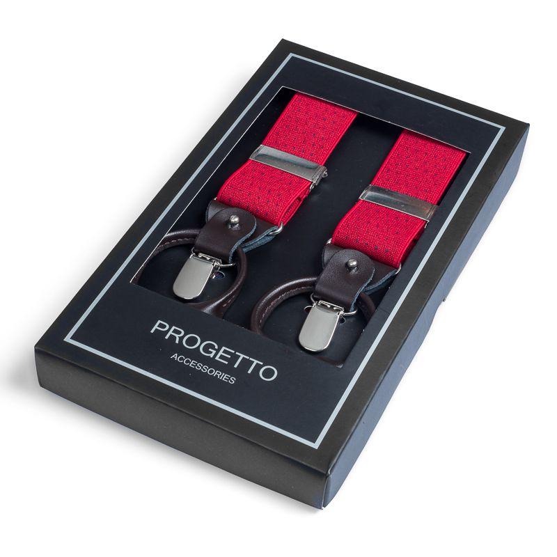 bretels elastiek luxury 40 dots roodmarine