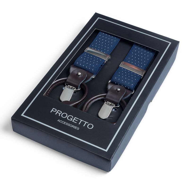bretels elastiek luxury 42 dots marinewit