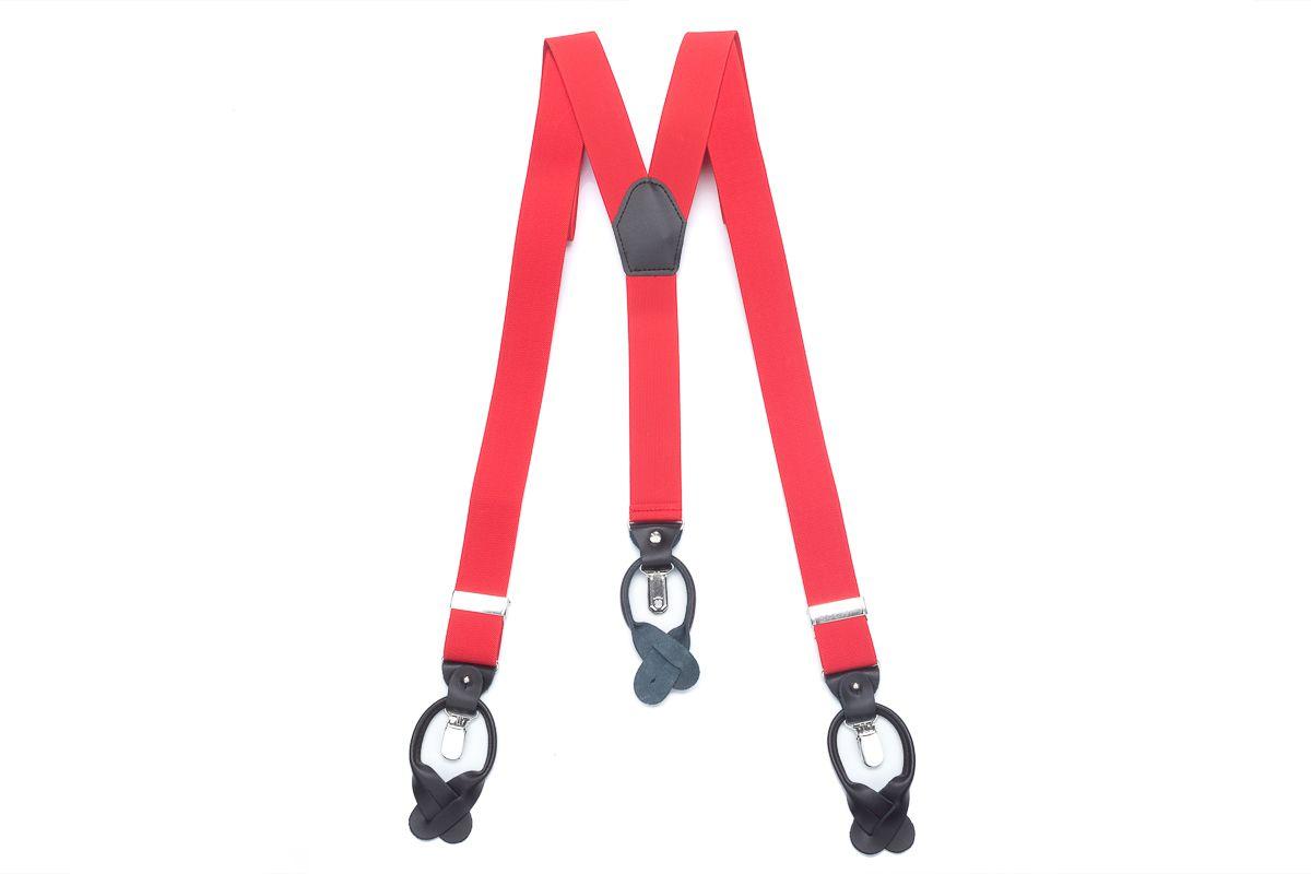 bretels elastiek luxury 47 rood