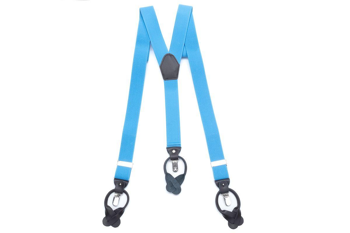 bretels elastiek luxury 69 lichtblauw