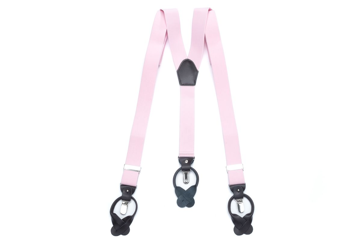 bretels elastiek luxury 71 roze