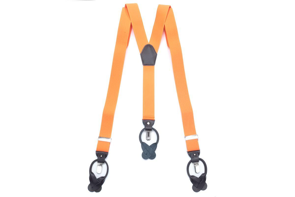 bretels elastiek luxury 75 oranje
