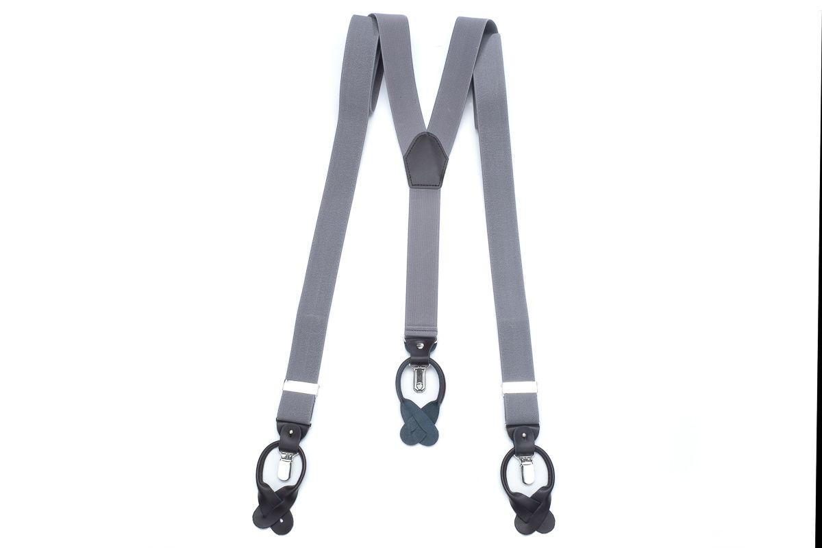 bretels elastiek luxury 8 grijs