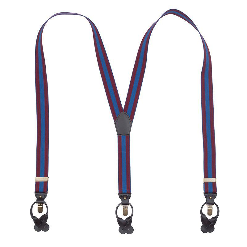 bretels elastiek luxury bordeauxblauw