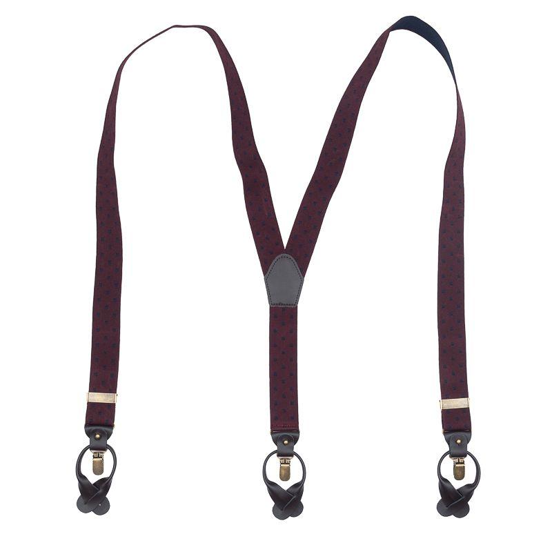 bretels elastiek luxury bordeauxnavy