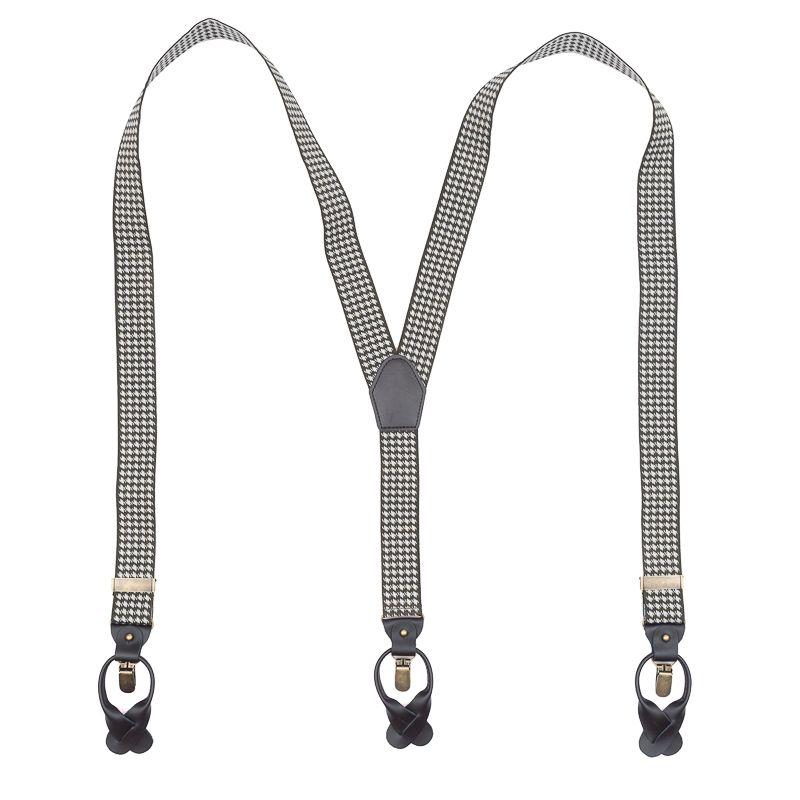 bretels elastiek luxury groenwit