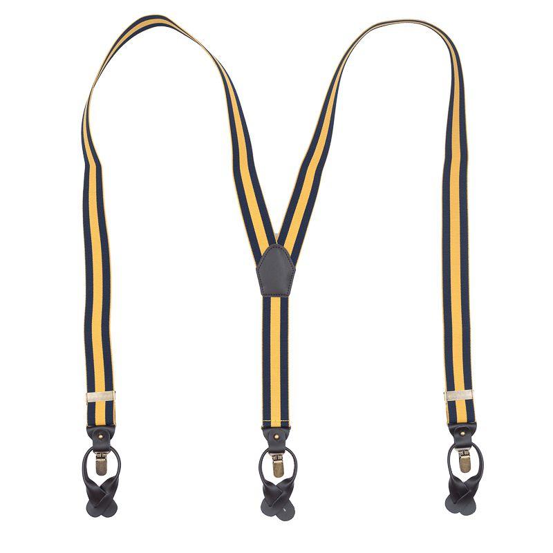 bretels elastiek luxury navygeel