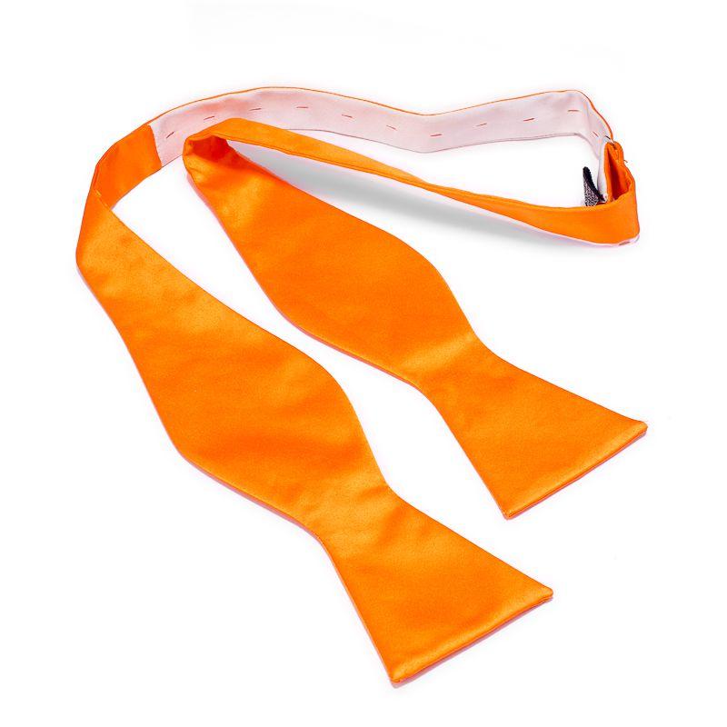 butterfly polyestersatijn uitlopend 999 oranje