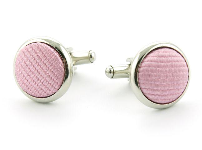 manchetknopen zijde nos 3 roze