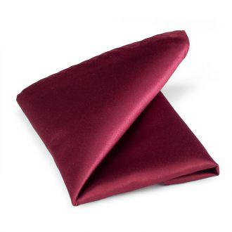 Pochet polyester-satijn 914 Bordeaux