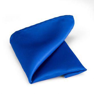 Pochet polyester-satijn 929 Kobalt