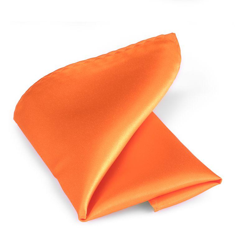 pochet polyestersatijn 999 oranje