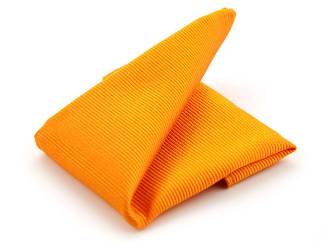 pochet zijde nos 1 oranje